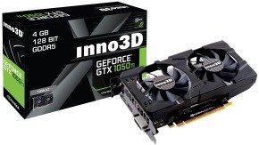Inno3D Nvidia GeForce GTX 1050 Ti 4GB GDDR5 Twin X2 Graphics Card