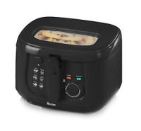 Swan SD6080BLKN 2.5L Square Black Fryer