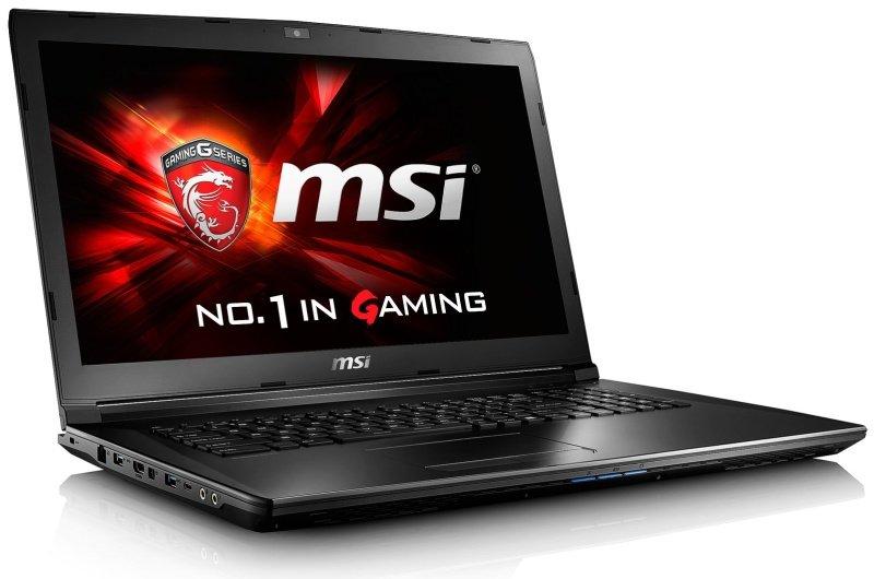 MSI GL72 6QE646UK Gaming Laptop Skylake Intel Core i56300HQ 8GB DDR4 1TB HDD 128GB SSD 17.3 FHD AG DVDRW GTX 950M 2GB WIFI Windows 10 Home