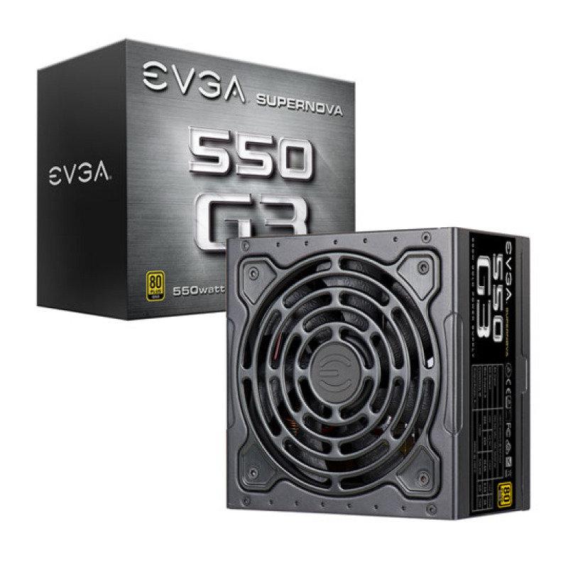 550w G3 80+ Modular Gold