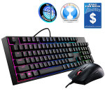 Cooler Master MasterKeys Lite L RGB Combo LED Gaming Bundle