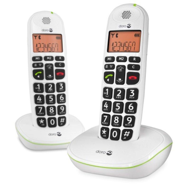 Doro Phoneeasy 100w Dect Phone  Duo
