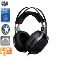 Cooler Master Masterpulse With Bass Fx Over-ear Gaming Headset