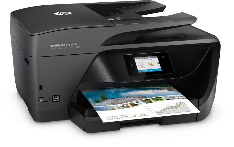 HP Officejet Pro 6960 All-in-One Wireless Inkjet Printer