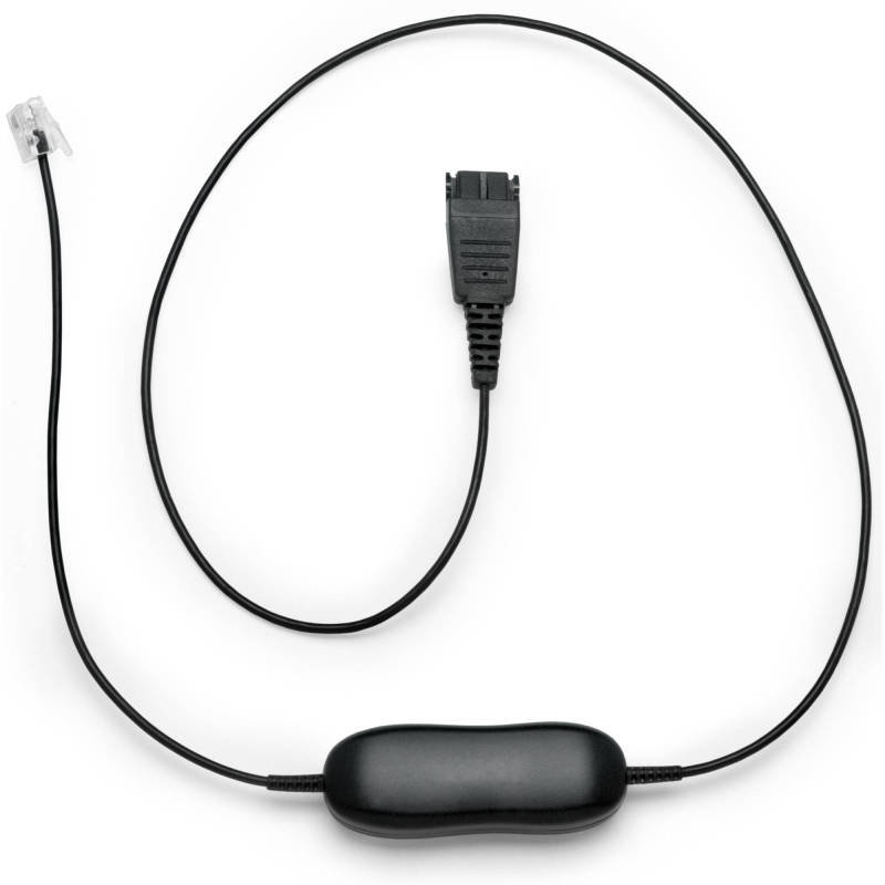 Jabra 1216 Cable (RJ-9 to Quick Disconnect) for Avaya X-One Phones