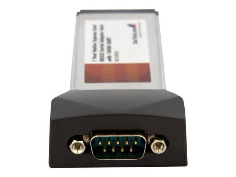 StarTech.com 1 Port Native ExpressCard RS232 Serial Adapter Card with 16950 UART - ExpressCard 54 Serial Card