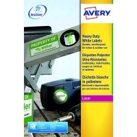 Avery Heavy Duty Laser Labels 63x38mm (Pack of 420)