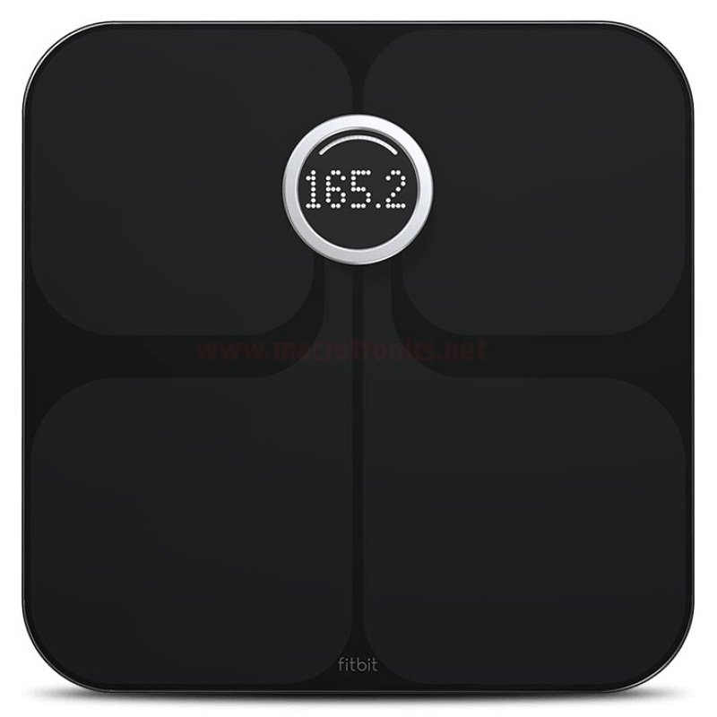 Fitbit Aria WiFi Smart Bathroom Scale  Black