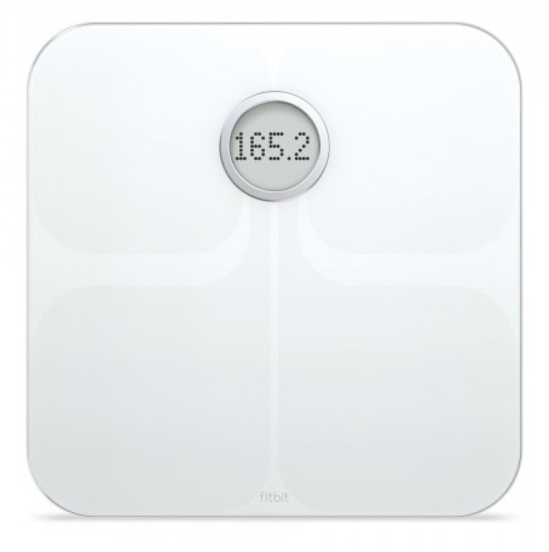 Fitbit Aria WiFi Smart Bathroom Scale  White