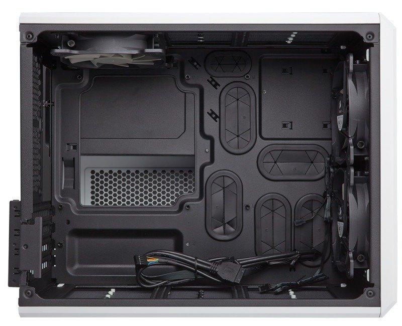 Corsair Carbide Series Air 240 High Airflow Microatx/mini-itx Pc Case (white)