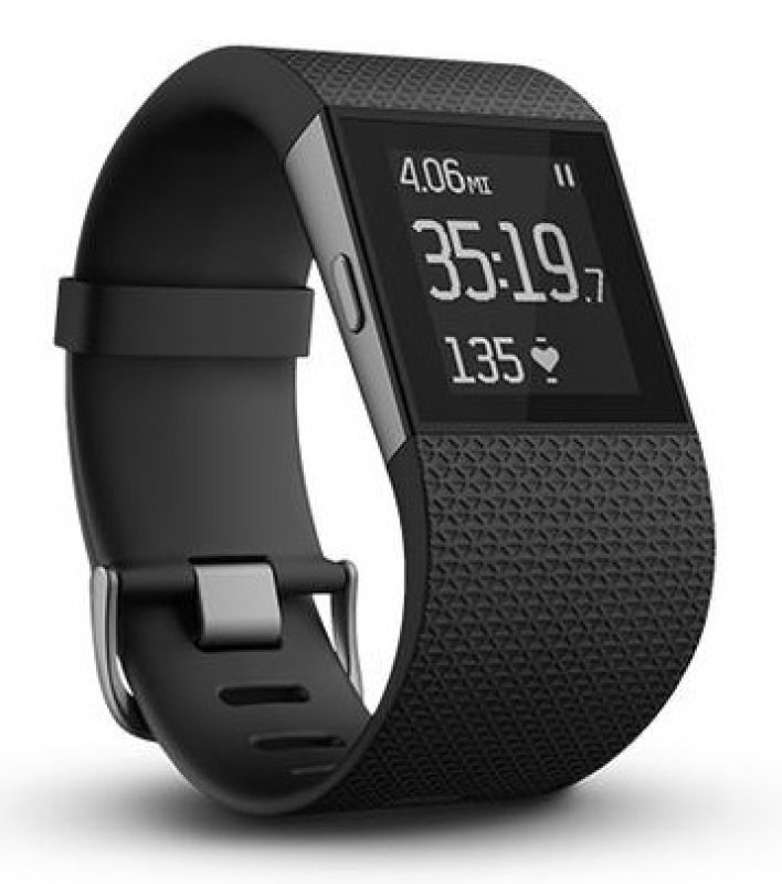 Fitbit Surge Super Watch - Small Black