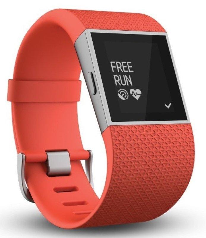 Fitbit Surge Super Watch - Large Tangerine