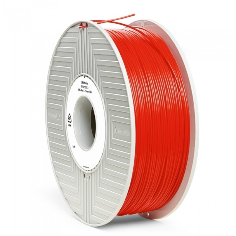 New Verbatim Abs 1.75mm 1kg - Red