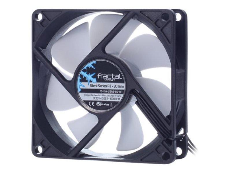 Fractal Design Silent Series R3 (80mm) Case Fan