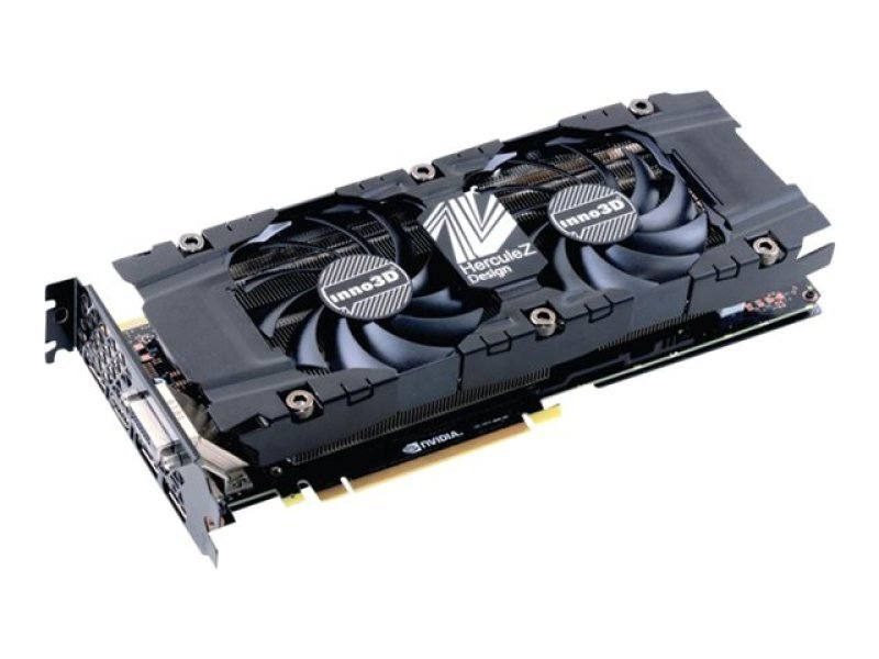 Inno3D Nvidia GeForce GTX 1080 HerculeZ Twin X2 8GB GDDR5X Graphics Card- N1080-1SDN-P6DN