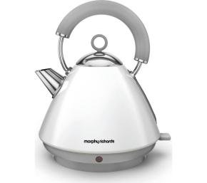 Morphy Richards 102031 Accents Pyramid EPP White
