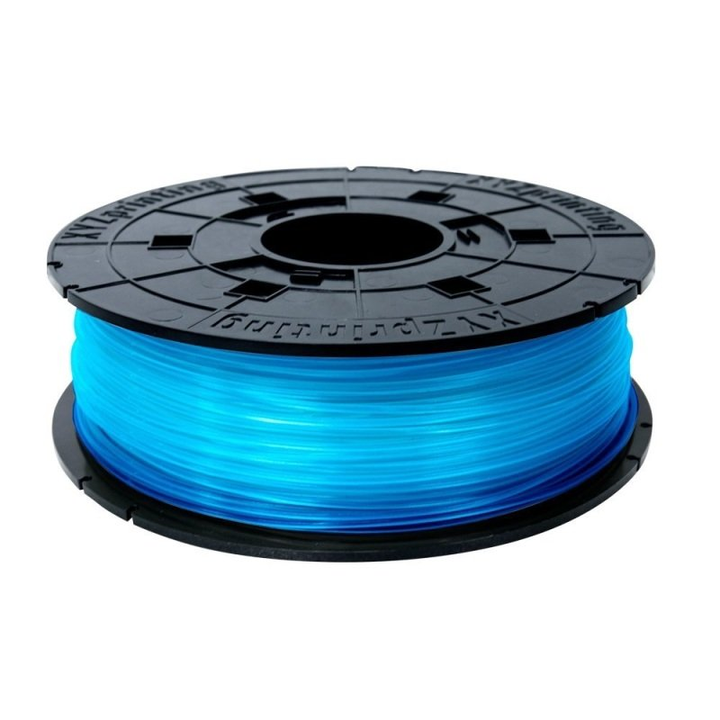 Xyz Pla Filament Clear Blue