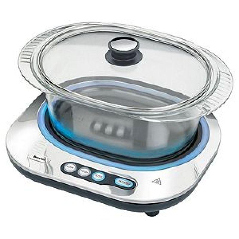Image of Breville VTP140 Glass Slow Cooker 4L
