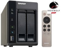 QNAP TS-253A-4G 4TB (2 x 2TB SGT-IW) 2 Bay NAS Unit with 4GB RAM