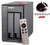 QNAP TS-251+-2G 6TB (2 x 3TB SGT-IW) 2 Bay NAS with 2GB RAM