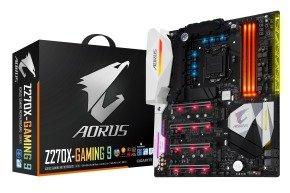 Gigabyte AORUS GA-Z270X-Gaming 9 LGA 1151 Motherboard