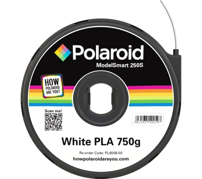 Polaroid - White - 750 g - PLA filament cartridge ( 3D )