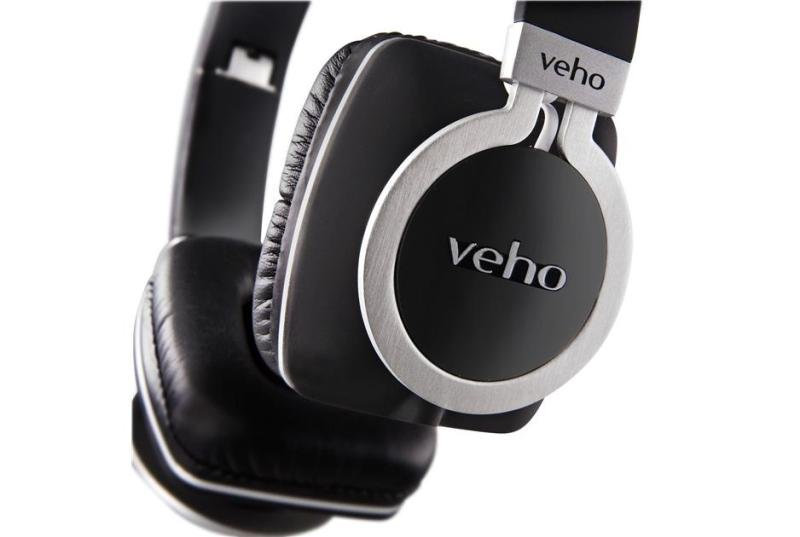 Veho Z-8 On-Ear Wired Headphones with Anti-Tangle Cable