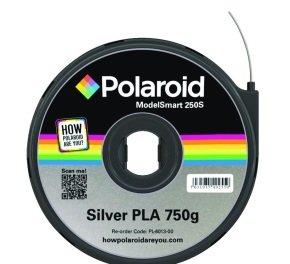 Polaroid - Silver - 750 g - PLA filament cartridge ( 3D )