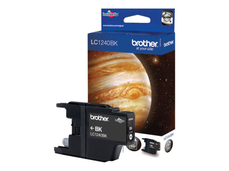 *Brother LC1240BK Standard Yield Black Toner Cartridge