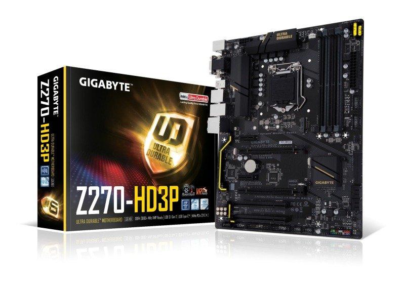 Gigabyte Intel GAZ270HD3P LGA 1151 ATX Motherboard