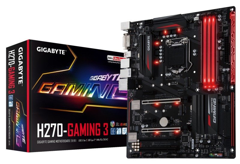 Gigabyte Intel GAH270Gaming 3 LGA 1151 ATX Motherboard