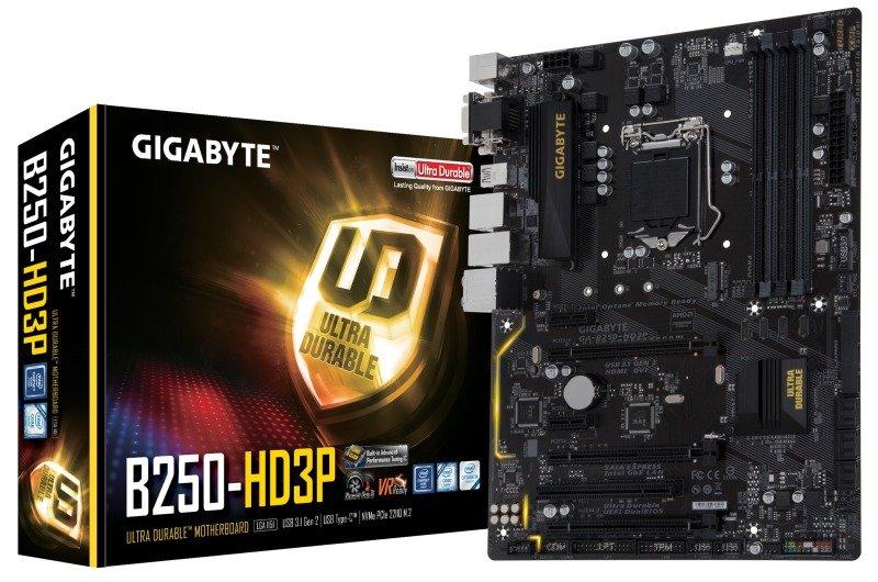 Gigabyte Intel GAB250HD3P LGA 1151 ATX Motherboard