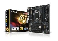 Gigabyte Intel B250M-D3H LGA 1151 Micro ATX Motherboard