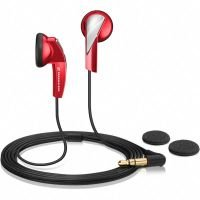 Sennheiser MX 365 - Headphones ( ear-bud ) - red