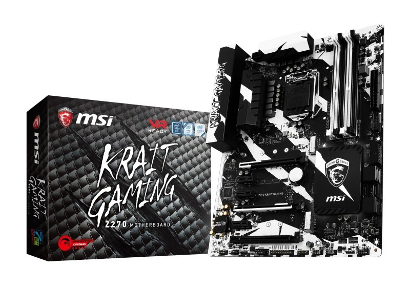 MSI Intel Z270 KRAIT GAMING LGA 1151 ATX Motherboard