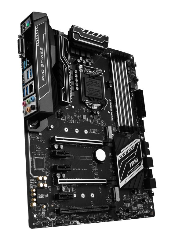 MSI Intel Z270 SLI PLUS LGA 1151 ATX Motherboard