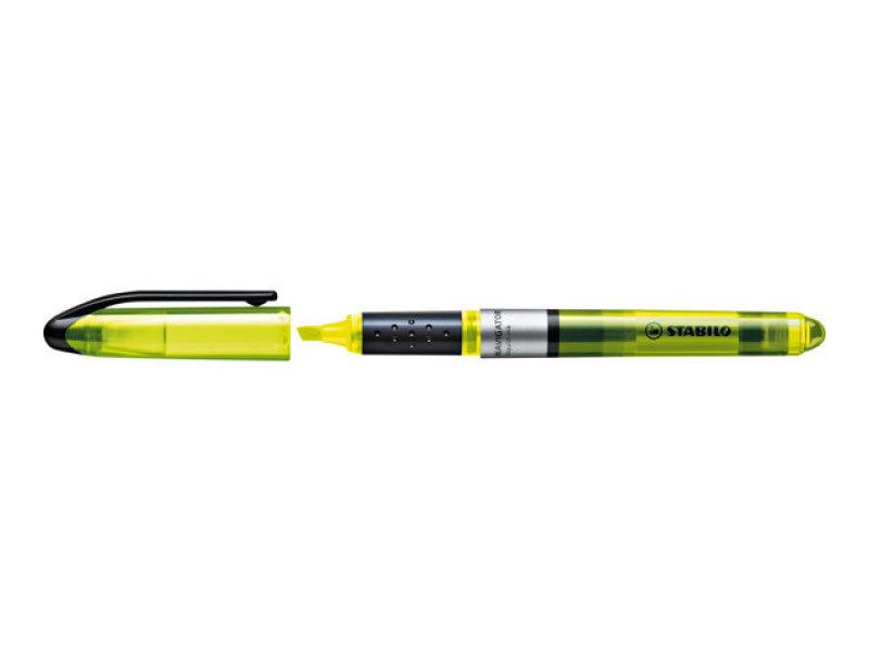 Stabilo Navigator Highlighter Yellow - 10 Pack