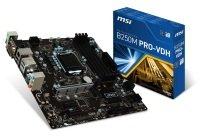 MSI Intel B250M PRO-VDH LGA 1151 M-ATX Motherboard