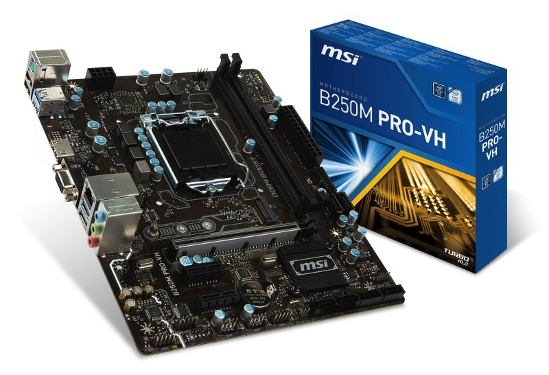 MSI Intel B250M PRO-VH LGA 1151 M-ATX