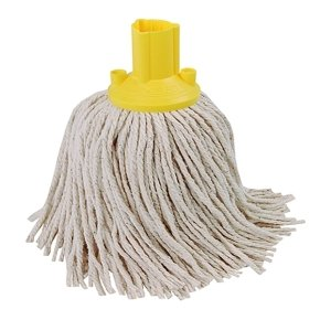 Exel Mop Head 250g Yellow (Pack of 10)