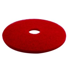 3M Red 17 Inch 430mm Floor Pad (Pack of 5)