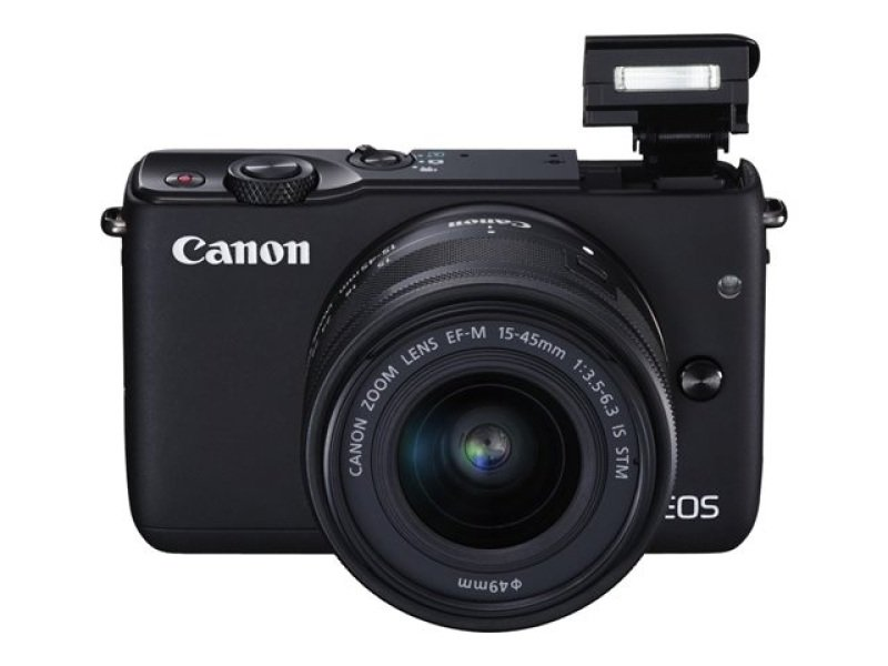 Eos M10d Black Dslr  Kit In