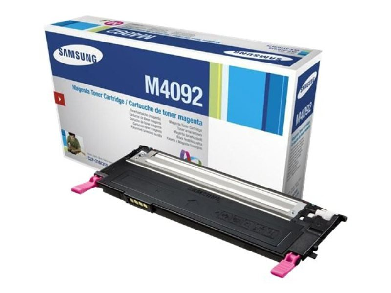 Samsung CLT-M4092S Magenta Toner Cartridge - 1,000 Pages