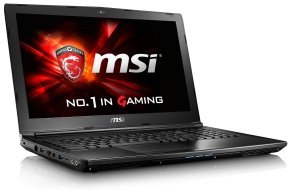 "EXDISPLAY MSI GL62 6QD Gaming Laptop Intel Skylake i5-6300HQ 2.3GHz 8GB DDR4 1TB HDD 15.6"" FHD DVDRW NVIDIA GTX 950M 2GB WIFI Windows 10 Home 64bit"
