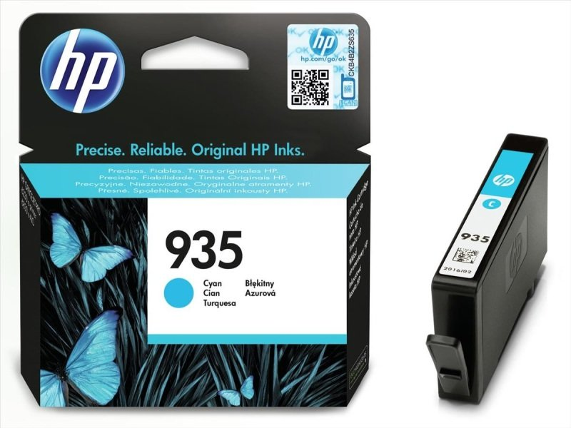 HP 935 Cyan Original Ink Cartridge  C2P20AE