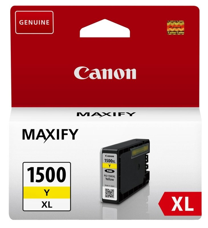Canon PGI-1500XL Maxify Yellow XL Ink Cartridge