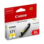 Canon CLI-571XL High Yield Yellow Ink Cartridge