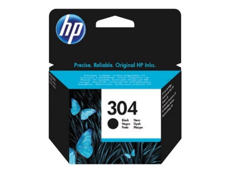 HP 304 Black OriginalInk Cartridge - Standard Yield 120 Pages - N9K06AE
