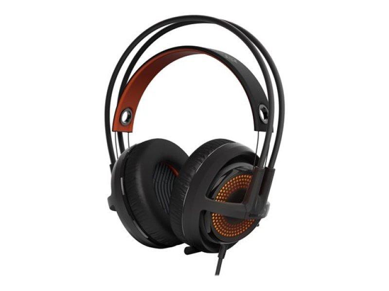Steelseries Siberia 350 Gaming Headset With Microphone (black/orange)