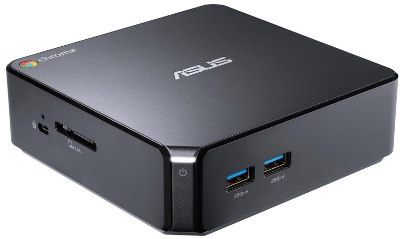 ASUS Chromebox CN62 Nettop PC Intel Celeron 3215U 1.7GHz 4GB RAM 16GB SSD NoDVD Intel HD WIFI Bluetooth Chrome OS